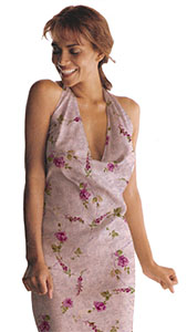 Photo draped Small Flower Textile Body