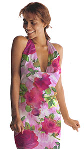 Photo draped Rose Textile Body